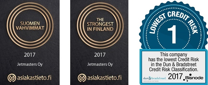 Suomen vahvimmat - The strongest in Finland - Lowest credit risk