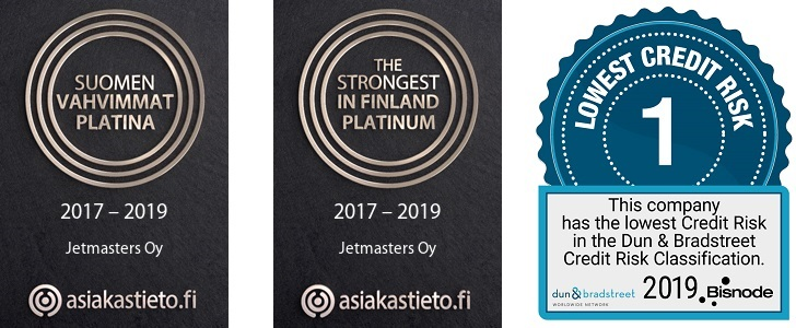 Strongest in Finland -lowest credit risk